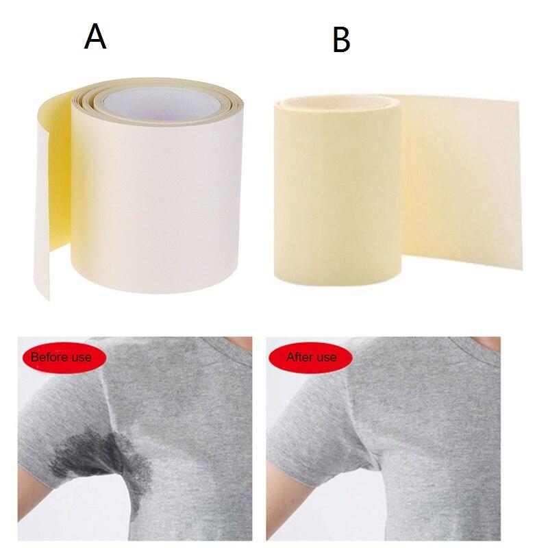 Disposable Armpit Sweat Pads Deodorant Absorbing Underarm Antiperspirant Keep Dry Tape Sticker