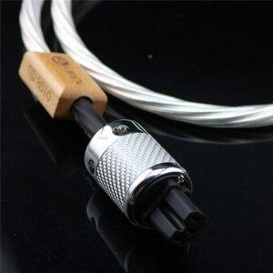 Image 3 - Cable de alimentación HIFI de alta gama, cable de alimentación con enchufe US, EU, IEC, 3 pines, 2 pines