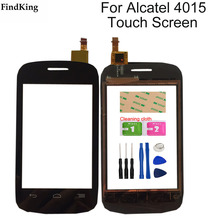 Touch Screen Glass For Alcatel Pop C1 OT4015 4015 4015X 4015A Digitizer Touch Panel Front Glass Lens Sensor Tools
