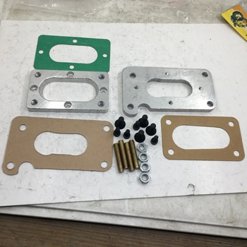 SherryBerg fajs EMPI Weber carb Carburetor Adapter kit for toyota nissan datsun suzuki Plate FOR MIKUNI 32/36 dgev dgv 38/38 dg