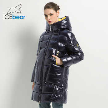 2019 New Winter Women's Coat Hooded Female Jacket with Zipper women's Clothing Thick Warm Coats Casual Ladies Parkas GWD19504I - DISCOUNT ITEM  58% OFF All Category