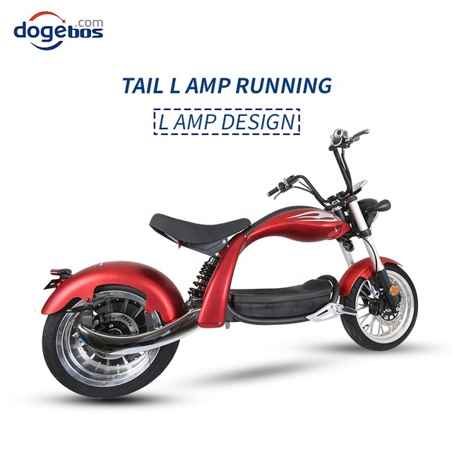 New Modal High Speed Citycoco 2000W Electric Motorcycle 60V 20AH 12inch Power Scooters Motorcycles Electric Adult E Scooter 4