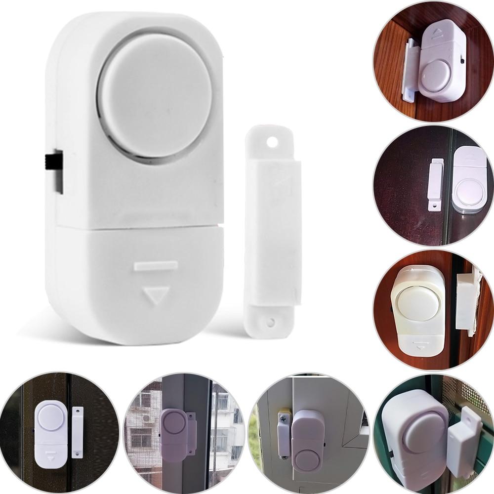 5pcs/pack Intelligent  Body Sensor Wireless Entry Home Door Window Burglar Alarm Safety Security System Magnetic Sensor