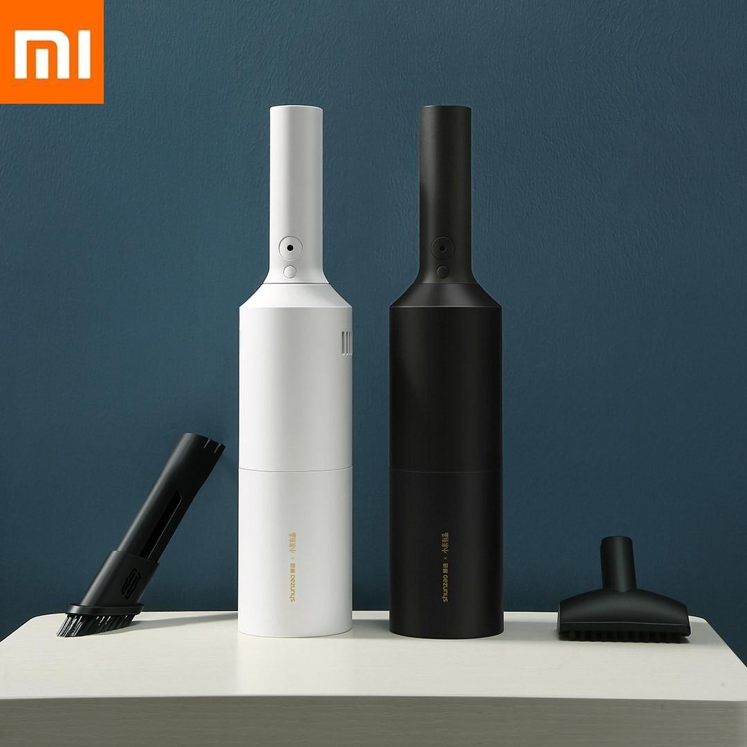 Оригинальный Xiaomi удобный пылесос с низким уровнем шума беспроводной ручной эффективный пылеочиститель для длительного использования