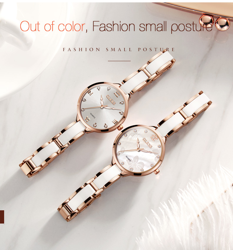 pulseira marca superior de luxo à prova