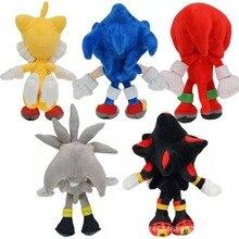 Toys Doll Plush-Toy Sonic Stuffed Christmas-Gifts Children Blue Black Yellow Soft