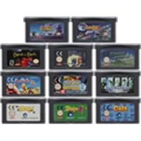 Image 1 - 32 קצת משחק וידאו מחסנית קונסולת כרטיס עבור נינטנדו GBA EDU TCG חינוך סימולציה משחק סדרת מהדורה