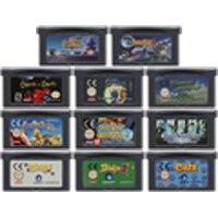 Cartão do console do cartucho do jogo de vídeo de 32 bits para a série do jogo da simulação da educação de nintendo gba edu tcg edition