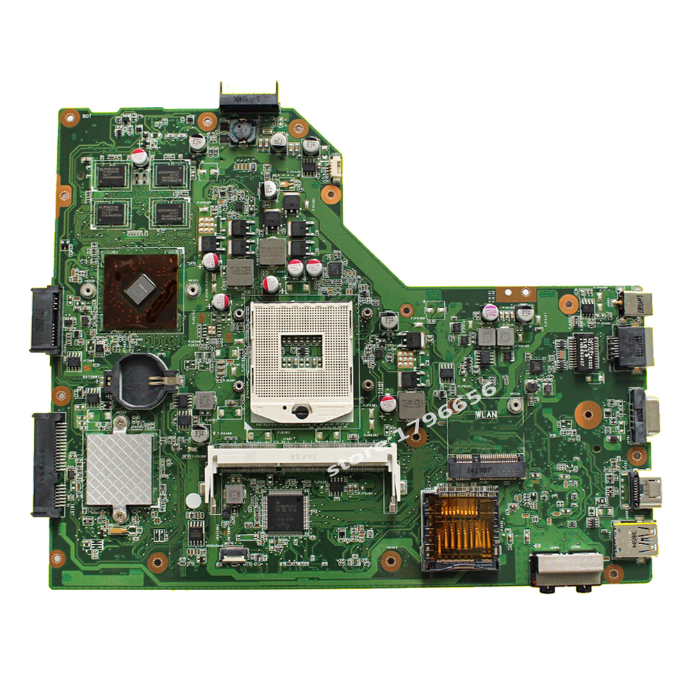 K54LY Laptop motherboard USB:3.0 1GB HM65 HD6470M for ASUS K54LY X54HR K54HR X54H Test mainboard K54LY motherboard test 100% ok 2