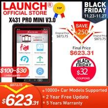 Lancement X431 Pro Mini V3.0 système complet voiture outil de Diagnostic OBD OBD2 Bluetooth/Wifi lecteur de Code Scanner X 431 Pros Mini X431 V