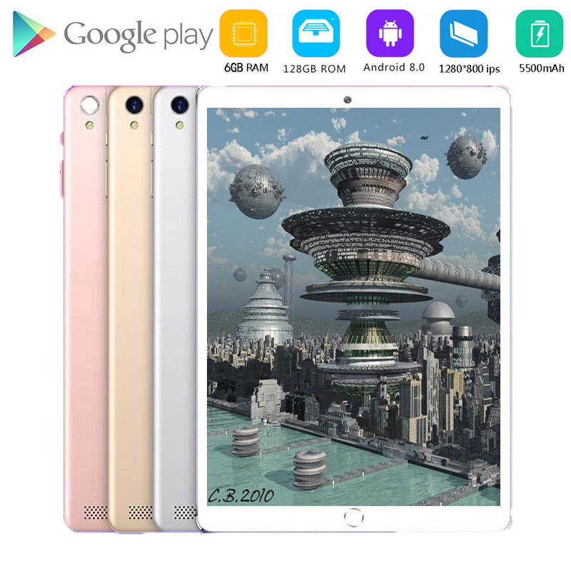 2020 New Original 10.1 Inch Tablet Pc Octa Core 4G Phone Call Google Market GPS WiFi FM Bluetooth 10 Tablets 8G+128G Android 9.0
