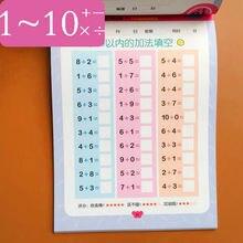 Книги в пределах 10 сложений и вычитаний для детей Раннее Образование