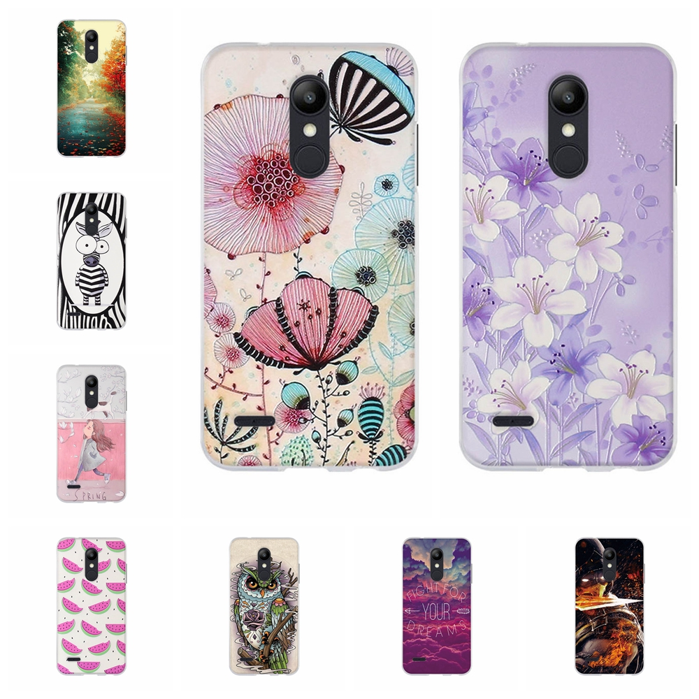 For <font><b>LG</b></font> K10 K10+ 2018 Thin Silicone Pattern Printing Case For K10 Alpha 2018 TPU Protective Fundas For <font><b>LG</b></font> <font><b>K11</b></font> <font><b>Phone</b></font> Back Shell image