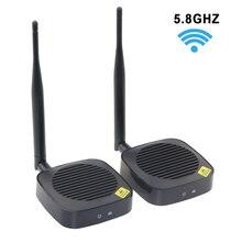 5.8GHz Wireless HDMIเครื่องส่งสัญญาณและตัวรับสัญญาณไร้สายHDMI Extender Kitสำหรับโปรเจคเตอร์รองรับ 1080P @ 60Hz 50M