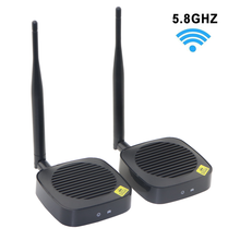 5.8GHz Wireless HDMI Transmitter and Receiver Wireless HDMI Extender Kit For TV Projector Support Up to 1080p@60Hz 50M