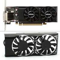 HA5510M12F-Z 0.20A 2Pin GTX1050 Ti GPU Koeler Ventilator Voor MSI Geforce GTX 1050 2GT LP GTX 1050Ti 4GT LPV1 Grafische kaart koelventilator