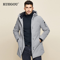 New Winter Mens Parkas Hooded Thick Gray Black Color Brand Clothing Man's Slim Fit Warm Clothes Male Wear Coats Plus Size 21606