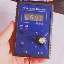 Автомобильный симулятор сигнала, генератор, Датчик Холла автомобиля и Датчик положения коленчатого вала, измеритель сигнала 2 Гц до 8 кГц