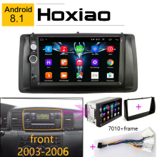 Android 8.1 Autoradio Video Multimedia Player Per Toyota Corolla 2003-2006 Installare Circondato Trim Pannello di Kit Specchio Link android