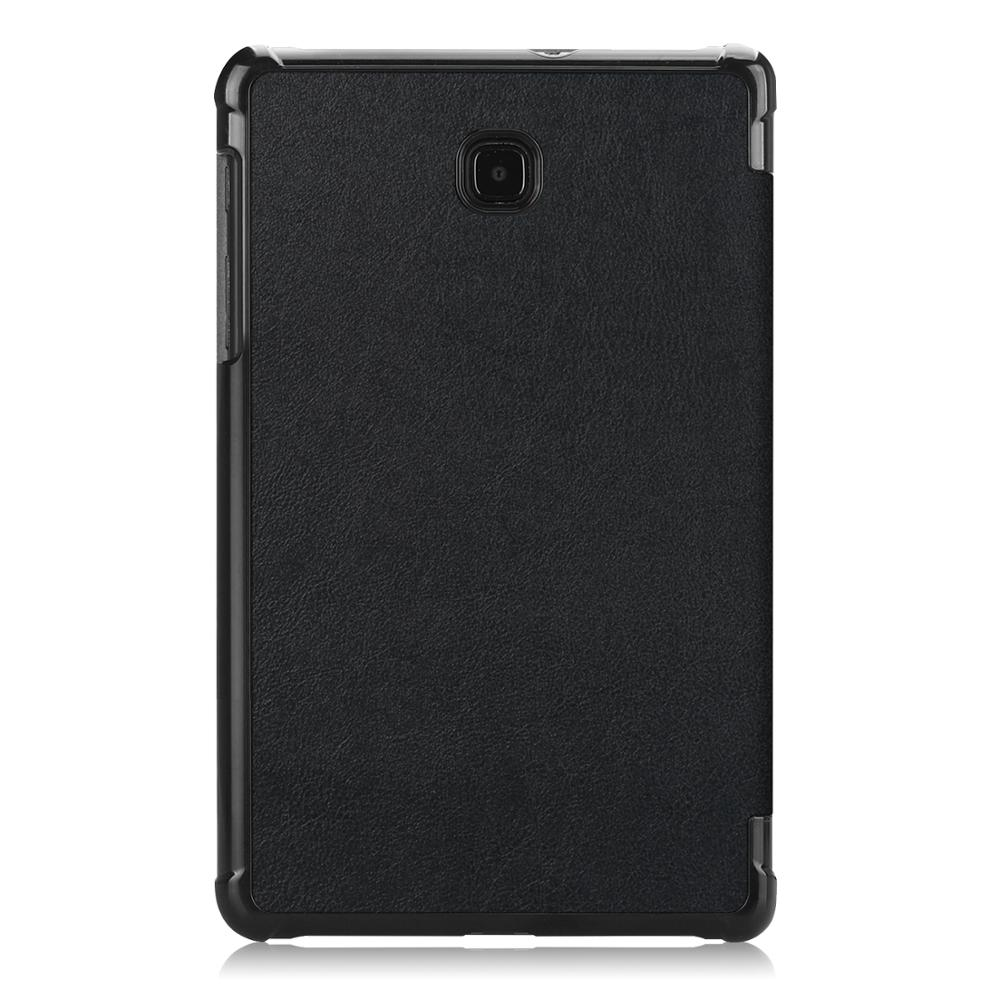 FlipLeather Stand Tablet Cover For Samsung Galaxy Tab A 8.0 Inch (2018) SM-T387 T387V Case Shell Coque Caqa + Free Stylus Pen