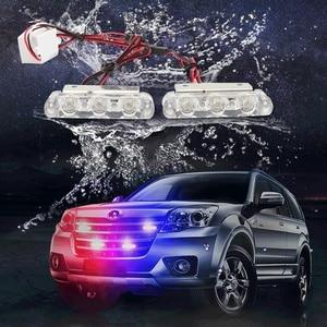 Police lights LED Strobe lights flasher fso auto flash police flasher stroboscopes Strobe light Police led light Strobe flasher(China)