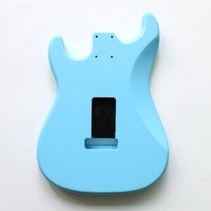 Image 5 - نيترو انتهى لتقوم بها بنفسك SSS سونيك الأزرق ألدر ST الغيتار الجسم ل SSS اليدوية الكهربائية عِدد جيتار