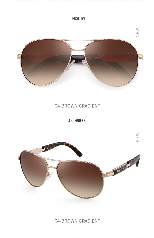 H6c176a951d9e4dbeb221bc612977d5ceU FENCHI Polarized Sunglasses Women Vintage Brand Glasses Driving Pilot Pink Mirror sunglasses Men ladies oculos de sol feminino
