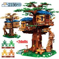 2156pcs Creator Tree House Building Blocks For Legoinglys City Ideas Friends Figures Bricks Educational Toys for Children Gifts
