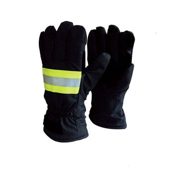 Fire Gloves Firefighters Fire Protection Gloves Standard 14 Firefighters Hand Flame retardant waterproof breathable 500 degrees heat insulation gloves high temperature resistant gloves to hot flame retardant aluminum foil meta aramid fire luvas