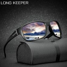 Longkeeper 2020 marca polarizada óculos de sol dos homens condução masculino alta qualidade moda viagem eyewear uv400 oculos