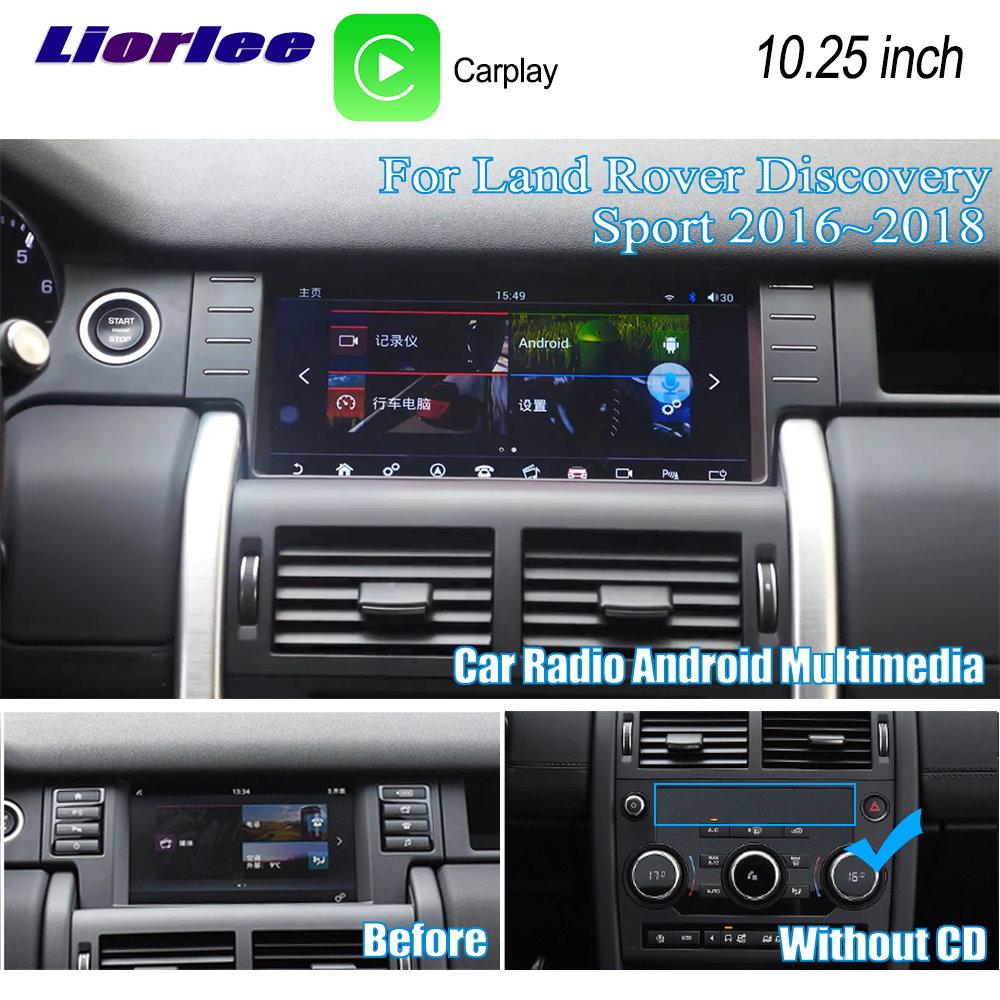 Liorlee для Land Rover Discovery Sport 2016 2019 10,25 HD экран автомобильное радио Android GPS навигация плеер мультимедийная система