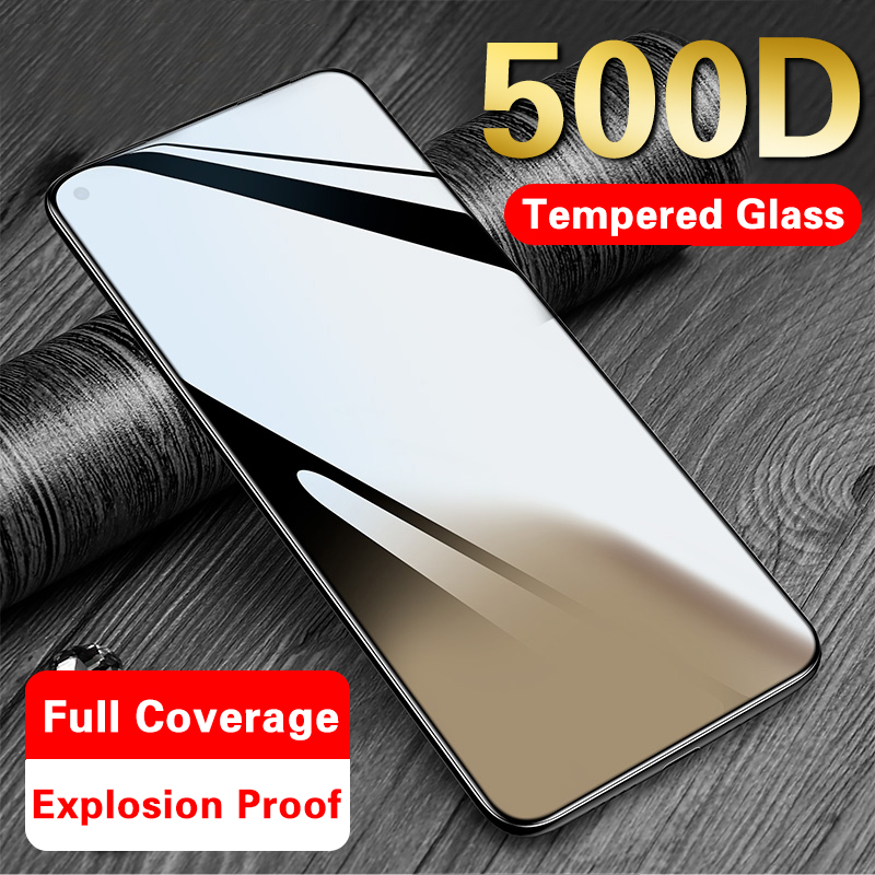 500D Tempered Glass On For Honor 20 Pro 10i 8x 9x Protective Glass For Huawei P30 P20 Lite P20 Pro P Smart 2019 Screen Protector