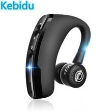 Kebidu Bluetooth Oortelefoon V4.0 Draadloze Hoofdtelefoon Mini Handsfree Headset 24Hrs Praten Met Microfoon Headset Voor Telefoon
