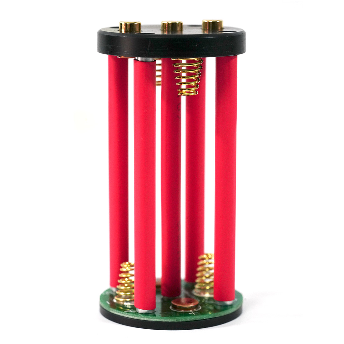 Battery-Holder Makes 18650 Bracket 4pcs Max-To-16.8v Up-The-Voltage And In-Series 4S