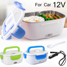 Dinnerware-Set Food-Warmer Electric-Heating Portable 12V Car Home Rice-Box Stainless-Steel