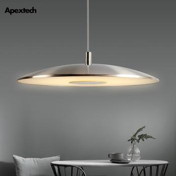 Modern Nordic LED Pendant light UFO Design disc-shaped Dining Room Suspension Lamp Bar Restaurant Lighting Fixtures