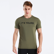 T-Shirts Compression Sportswear Jogger Short-Sleeve Gym-Clothing Exercise Workout Men