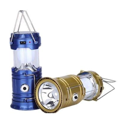 Multi-functional LED Ultra-Solar Lantern Outdoor Camping Emergency Light Tent Light Pull Light Flashlight