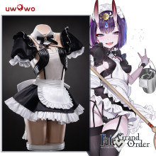 Uwowo Anime Kostuum Fate/Grand Order Fgo Shuten-Douji Maid Jurk Mooie Uniform Cosplay Kostuum Halloween 2019 Nieuwe cos(China)