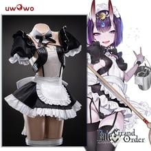 Uwowo Аниме Костюм Fate/Grand Order FGO Shuten douji платье подружки невесты красивая форма Косплей Костюм Хэллоуин 2019 new cos