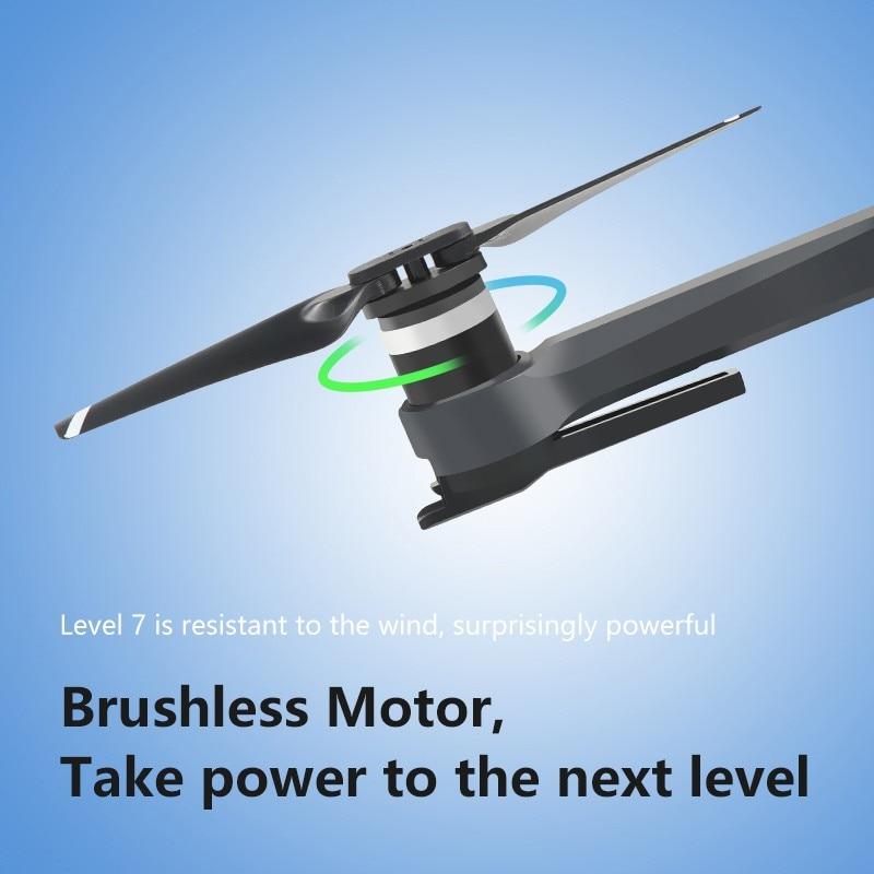 2019 novo zangão k20 com 4 k câmera dupla gps um chave retorno modo headless siga me círculo voar rc drones brinquedos - 5