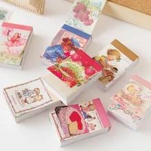 Junk Journal Stickers Memo-Pads Scrapbooking School Stationery Strawberry-Paper Animals