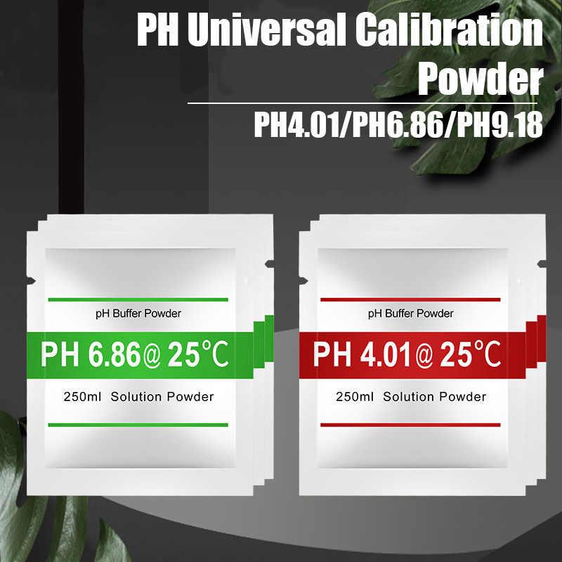 Ph4.00/ 6.86 /9.18 Punto di Calibrazione Per Meter Test PH Semplice Da Usare 1/2/3pcs PH Buffer Polvere Misurare Soluzione di Calibrazione