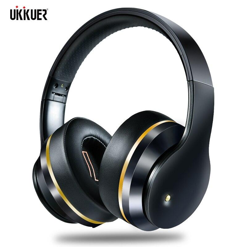 ANC Bluetooth наушники с активным шумоподавлением Беспроводная гарнитура складные Hifi глубокие басы Наушники с микрофоном для музыки
