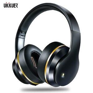 Image 1 - Anc bluetooth fones de ouvido com cancelamento ruído ativo fone sem fio dobrável alta fidelidade graves profundos com microfone para a música