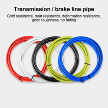 3 м провод для велосипеда переключатели передач велосипеда переключатель тормозных кабелей кабель переключения труб 4 мм/5 мм MTB дорожный ве...