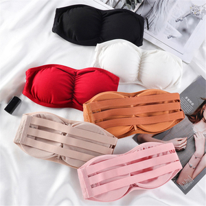 Sexy Invisible Bra Lingerie For Women Backless Seamless Strapless Bra Sexy Bralette Mujer Brassiere Crop Top Push Up Bras Gifts