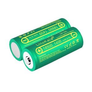 Image 5 - LiitoKala Lii 14A 18500 1400mAh 3.7V 18500 Battery Rechargeable Battery Recarregavel Lithium Li ion Batteies For LED Flashlight