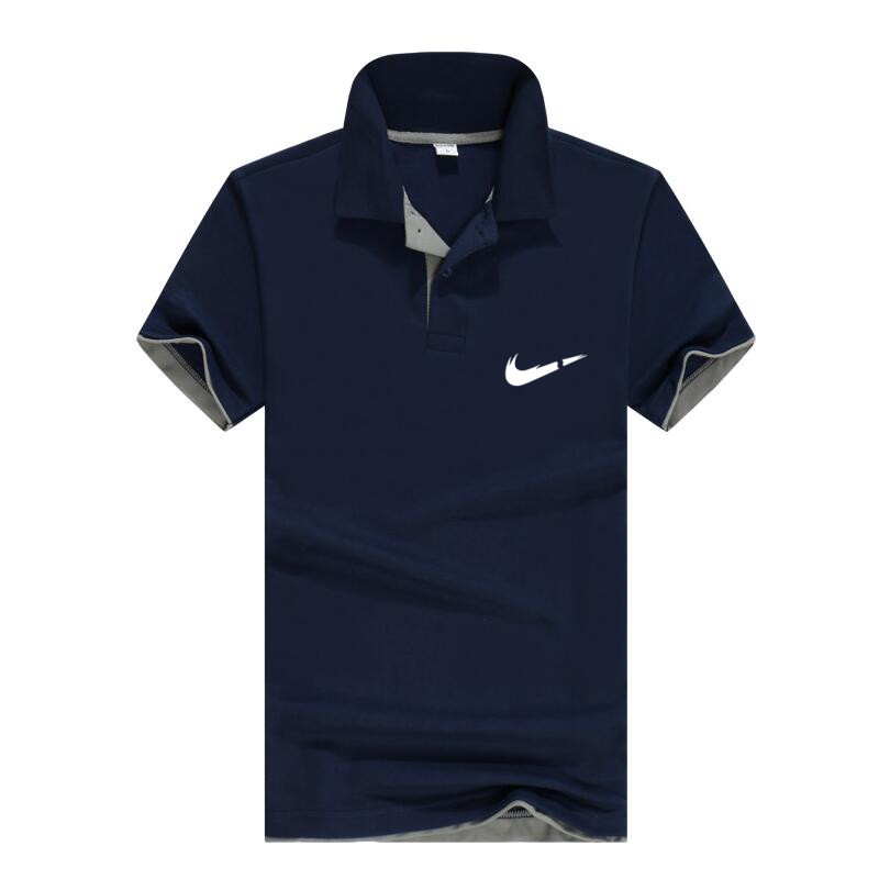 Breathable Men's Business Casual Polo Shirt  1