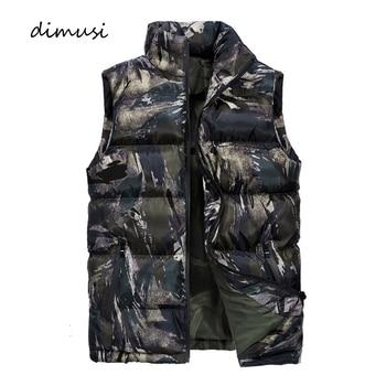 Sleeveless Camo padded jacket winter protection